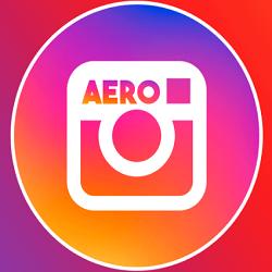 Insta Aero Apk Download For Android 2020 [AntiBan Dark Mode]