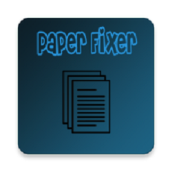 Paper Fixer Apk Free Download for Android
